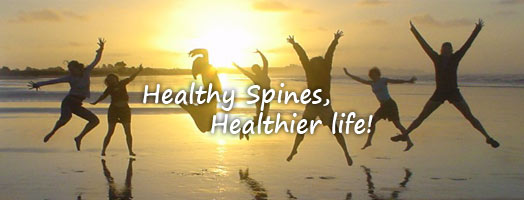 Healthy Spines, Healthier life!